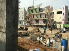 Caught on cam: 3-storey building collapses during repair work