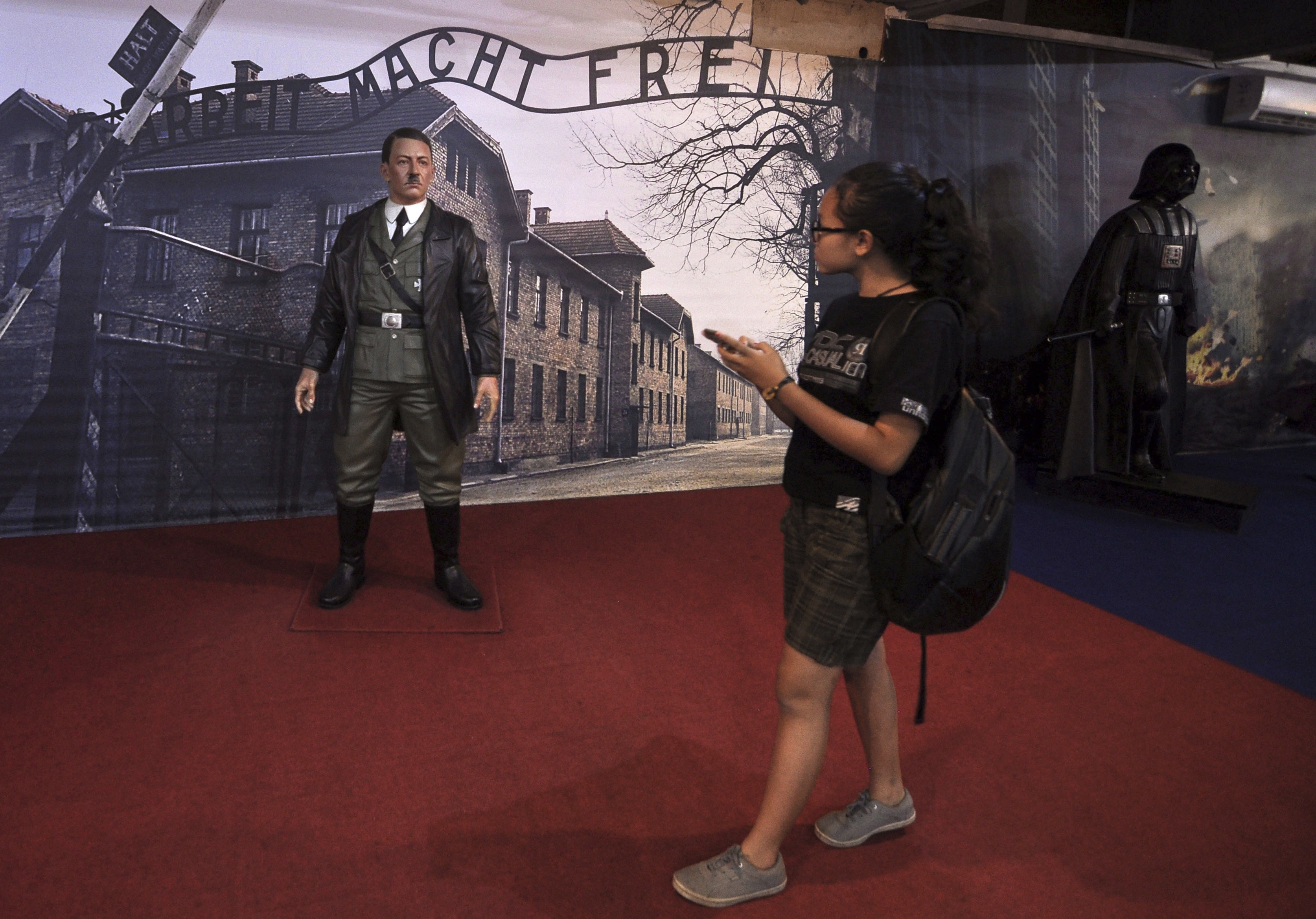 This museum didnt think its Hitler statue was a problem — until the complaints started.