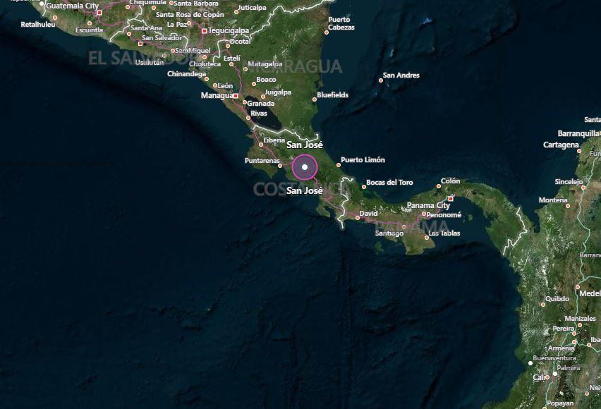 Magnitude 6.5 earthquake strikes Pacific coast of Costa Rica: USGS