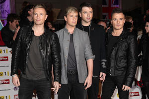 File photo dated 8/11/2010 of boy band Westlife whose farewell concert is to be screened live to cinemas in the UK and Ireland, allowing fans to view their final moments.