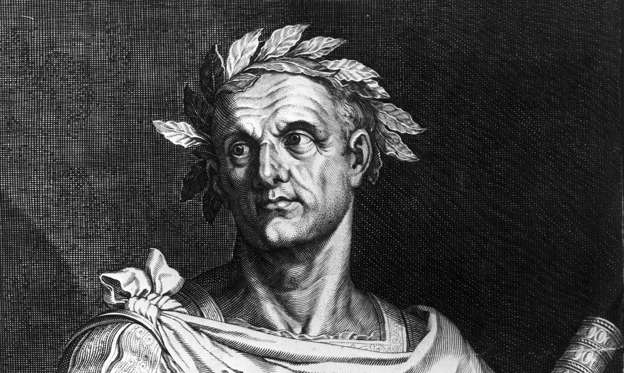 Slide 1 of 15: 100 B.C.:  Julius Caesar is born in Rome.