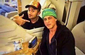 Yo Yo Honey Singh takes SRK on a flight on his private jet.