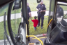 Bus driver finds lost two-year-old boy