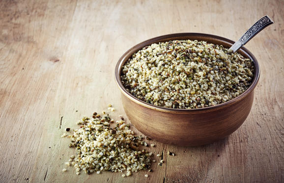 Slide 2 of 21: With just 30 grams of hemp seeds, or two to three tablespoons, you get about 11 grams of protein. They're also a good source of two essential fatty acids (omega-6 and omega-3) so add them to smoothies or sprinkle them on your cereal!