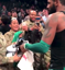 Soldiers shocked when NBA star gifts them with jersey and sneakers