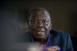 President of the Movement for Democratic Change and former Prime Minister of Zimbabwe Morgan Tsvangirai