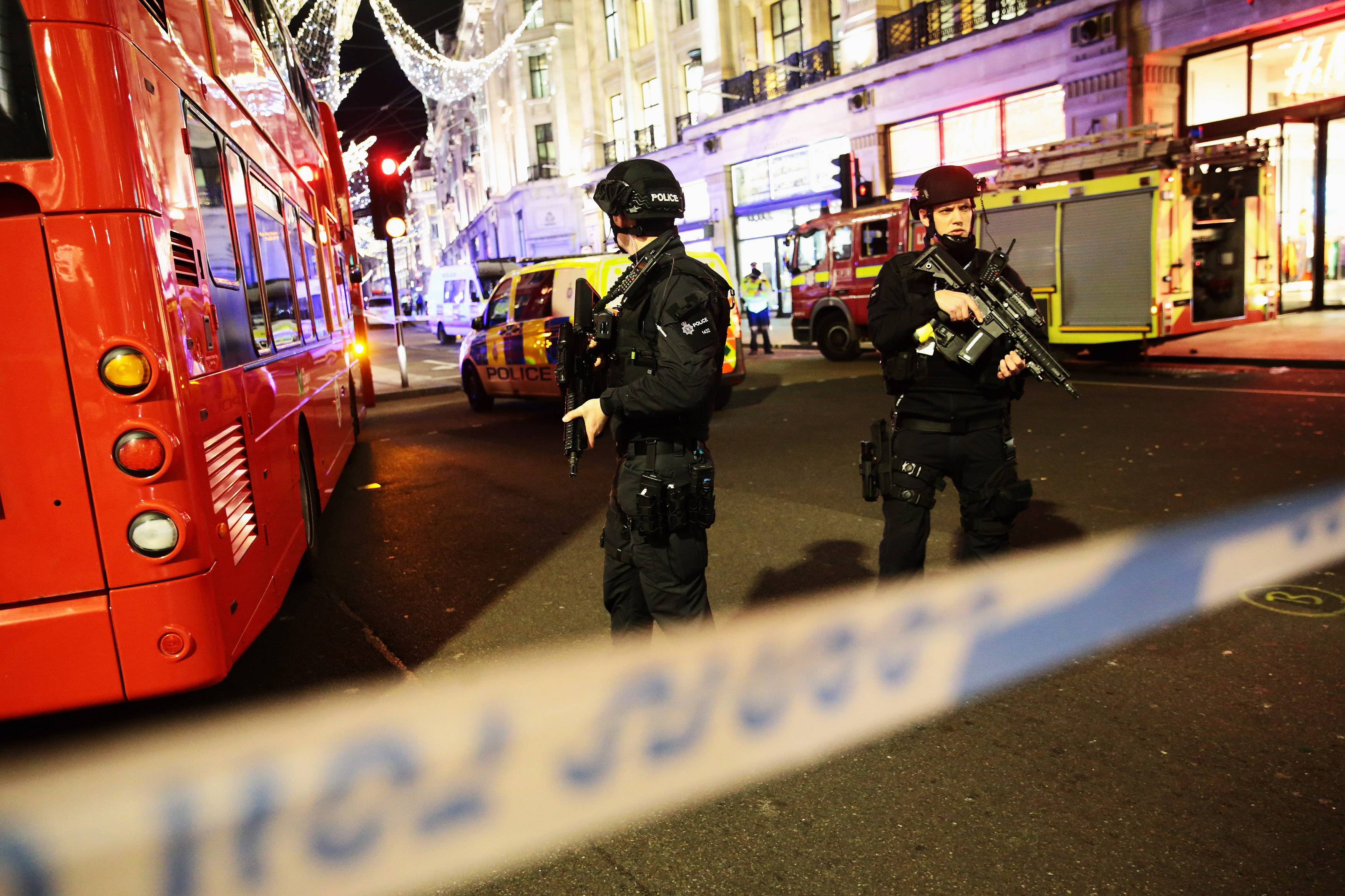 London underground stations reopen after Oxford Circus incident