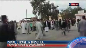 "Breaking News delle ore 21.30: ""Sinai, strage in moschea"""