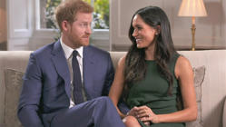 'She didn't let me finish': Harry proposed to Meghan over roast chicken