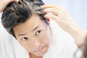 Men who go grey early may also be at higher risk of heart disease (Image: Getty)