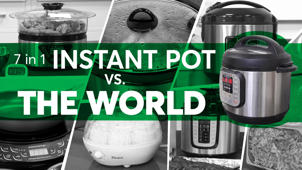 a close up of a bottle: Instant Pot vs. The World