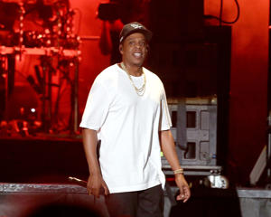 AUSTIN, TEXAS - OCTOBER 06:    Jay-Z performs in concert on the first day of week one of the Austin City Limits Music Festival at Zilker Park on October 6, 2017 in Austin, Texas.  (Photo by Gary Miller/FilmMagic)