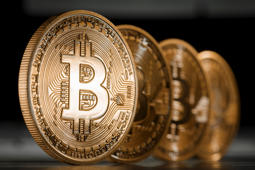 "Bitcoin is a digital non-aligned currency, which is not tied to any financial institution. Users can ""mine"" the currency and spend it independently by ""lending computing power to verify other users' transactions."""