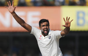 Indian bowler Ravichandran Ashwin