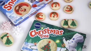 a close up of food: What 100 Calories of Holiday Cookies Looks Like