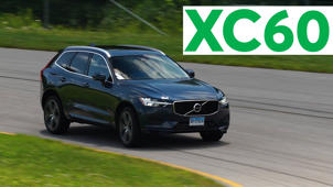 a car parked on the side of a road: 2018 Volvo XC60 Road Test