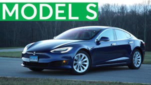 a car parked in a parking lot: 2016 Tesla Model S Road Test