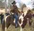 US senator Roy Moore arrives on a horseback for voting