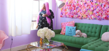 This Unicorn-inspired apartment will give you serious #homegoals