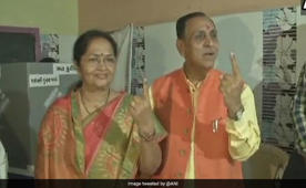 Gujarat elections: CM Vijay Rupani casts his vote