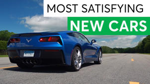 a car parked on the side of a road: Happy on the Highway: The 5 Most Satisfying New Cars