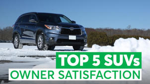 a car parked on the side of a road: The Top 5 Used SUVs Owners Love (And the 3 to Avoid)