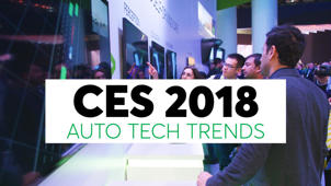 a man standing in front of a store: Auto Trends We Expect in 2018