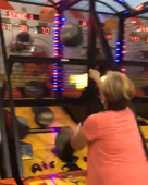 Grandma killing it at the arcade!