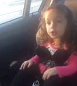 3-year-old girl tells dad who's the boss
