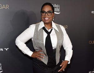 WEST HOLLYWOOD, CA - NOVEMBER 07: Oprah Winfrey arrives at the taping of 'Queen Sugar After-Show' at OWN Oprah Winfrey Network on November 7, 2017 in West Hollywood, California. (Photo by Amanda Edwards/WireImage)