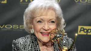 Betty White posing for the camera: Some of the richest celebrities on the planet have been perfecting their craft for decades. These household names have cemented their place at the top of their respective industries — and they have the fortune to prove it.From Warren Buffett to Betty White, click through to find out which of these celebrities is richer.