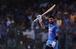 Kohli's ton takes India 1-0 up