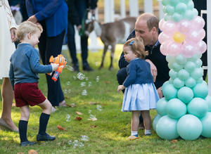 Prince William and Kate have been inspired by Swedish children spending more time outdoors