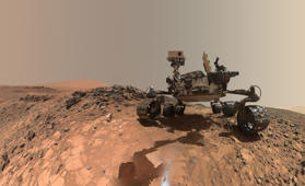 NASA releases photo of Mars rover Curiosity