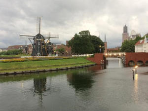 Canals and windmills give the feeling of being in Amsterdam (Mike MacEacheran)