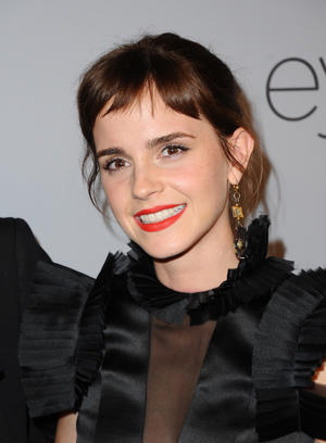 Actor Emma Watson attends 19th Annual Post-Golden Globes Party hosted by Warner Bros. Pictures and InStyle at The Beverly Hilton Hotel on January 7, 2018 in Beverly Hills, California.