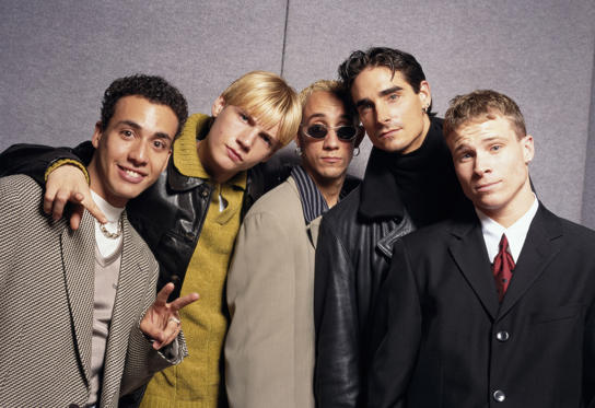 Slide 1 of 50: Backstreet Boys- Group