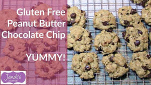 a close up of a sign: How to make gluten free chocolate chip cookies