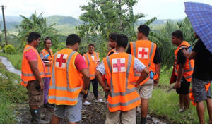 Fiji's Red Cross says its volunteers are getting out into communities hit by Cyclone Gita to understand what help people need.