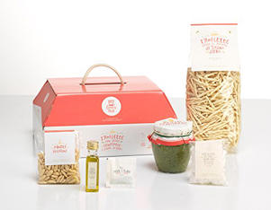 My Cooking Box Pasta Trofiette al pesto genovés