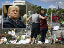 'I'd run in there even without a gun': Trump on Florida shooting