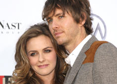Actors Alicia Silverstone and Christopoher Jarecki arrive at Conde Nast Media Group's 2007 Movies Rock at the Kodak Theatre on December 2, 2007 in Hollywood, California.