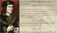 Bundle of King Richard III's financial records going under the hammer