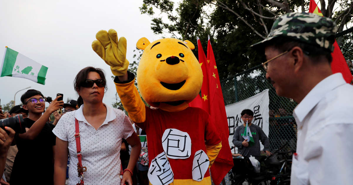 Chinas Censors Ban Winnie the Pooh and the Letter N After Xis Power Grab