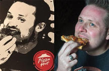 Man thinks Pizza Hut used a photo of him on their boxes