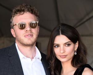 CAPTION: SANTA MONICA, CA - MARCH 03: Model Emily Ratajkowski (R) and producer Sebastian Bear-McClard attend the 2018 Film Independent Spirit Awards on March 3, 2018 in Santa Monica, California. (Photo by Amanda Edwards/Getty Images)