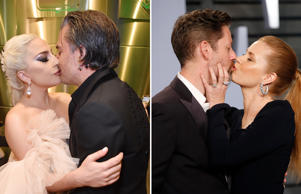 Celebrities have never shied away from demonstrating their love for their partners in public. From Lady Gaga and Christian Carino to Amy Adams and Darren Le Gallo, here's a look at celebrity couples who indulged in PDA at various occasions.