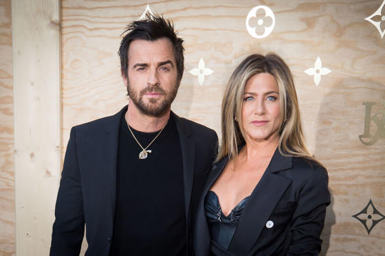 Diapositiva 1 de 45: Jennifer Aniston and Justin Theroux Split After Two Years of Marriage