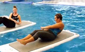 Float Fit: Try aerobics whilst you float on water