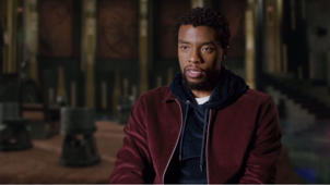 Chadwick Boseman Interview - 'Black Panther'